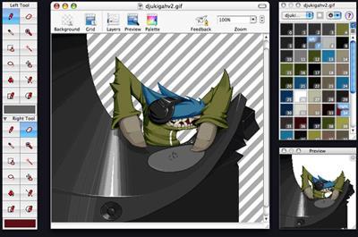 Pixen für Mac 3.5.9b2 - Fotobearbeitungsprogramm