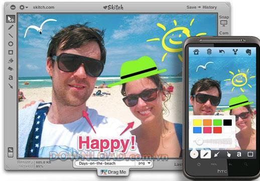 Skitch für Mac 2.7.1 - Fotobearbeitung