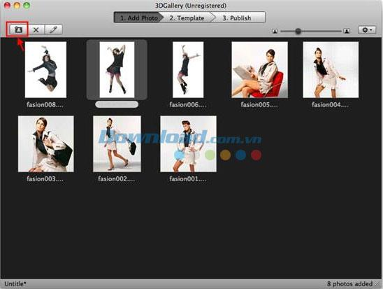 iFunia 3DGallery für Mac 2.4 - Erstellen Sie eine 3D-Fotogalerie auf einem Mac