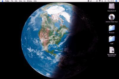 EarthDesk für Mac 6.3 - Bilder der Erde