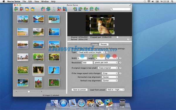 Resize Sense für Mac 1.5.1 - Ändern Sie die Größe von Fotos für Mac
