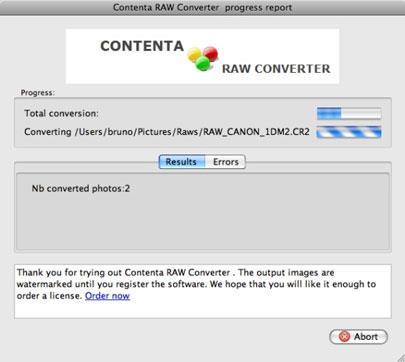 Contenta DNG Converter für Mac
