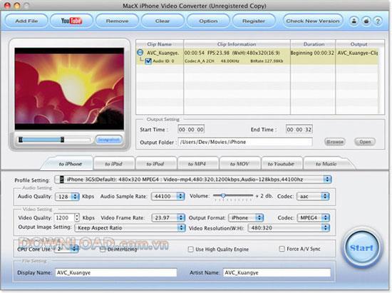 MacX iPhone Video Converter