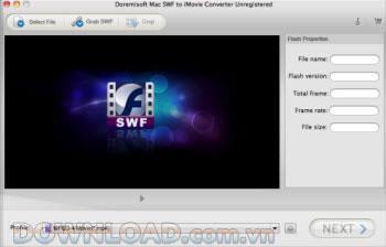 SWF zu iMovie Converter für Mac
