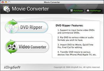 iOrgSoft Movie Converter für Mac 4.1.3