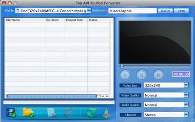 AVI To iPod Converter für Mac