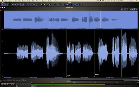 Peak Express für Mac OS X 6.11 - Hochwertige Aufnahmesoftware