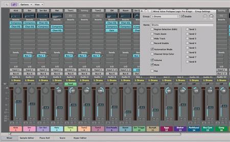"""""""Drum Performer"""" für Apple Logic Pro für Mac 1.0 - Beispiel-Soundbibliothek"""
