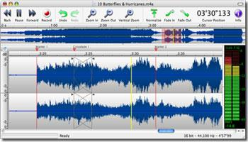 TwistedWave 1.7 für Mac