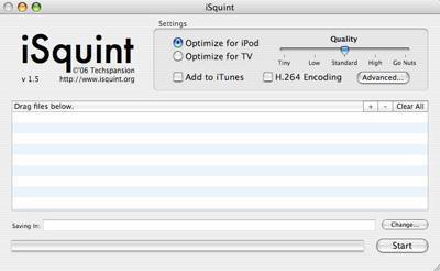 iSquint 1.5.2 für Mac