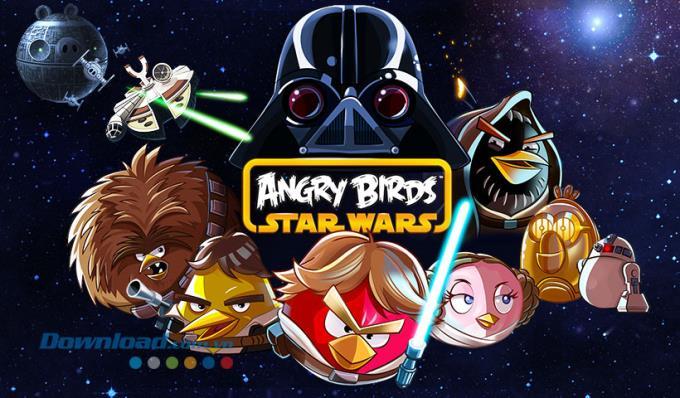 Angry Birds Star Wars für Mac 1.0.0 - Angry Birds-Spiel