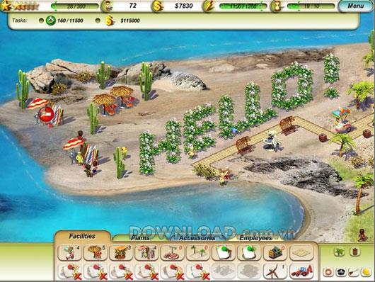 Paradise Beach für Mac - Strandmanagement
