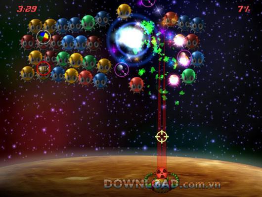 Astro Bugz Revenge für Mac - Ballschießspiel