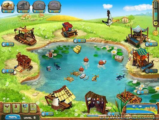 Fisher's Family Farm für Mac - Fischzuchtspiel