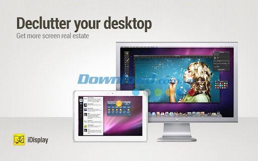 iDisplay Desktop für Mac 2.3.10 - Erstellen Sie einen zusätzlichen Monitor auf dem Mac