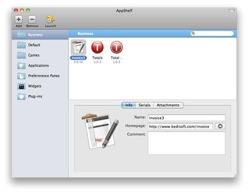 AppShelf für Mac