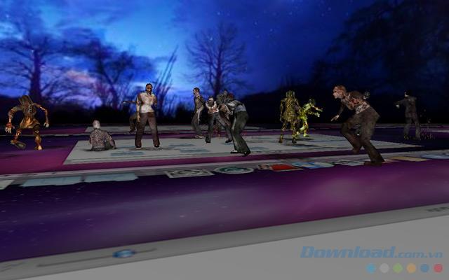 3D Desktop Zombies Screen Saver für Mac 2.0 - Erstellen Sie einen 3D-Bildschirm mit Zombies