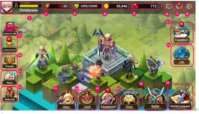 Fantasy War Tactics für Android v0.528.1 - Rundenbasiertes Kampfrollenspiel auf Android
