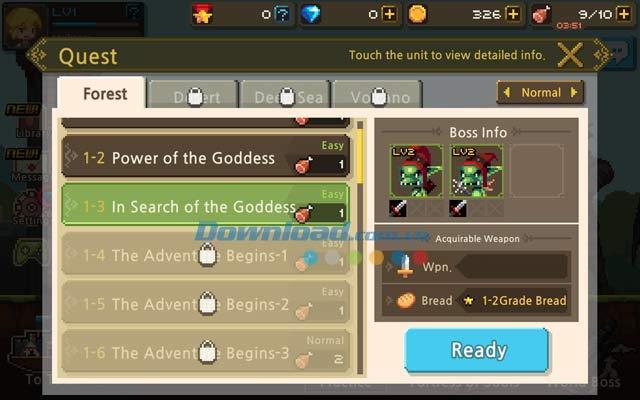 Crusaders Quest für Android 1.10.9.KG - Rollenspiel für Android