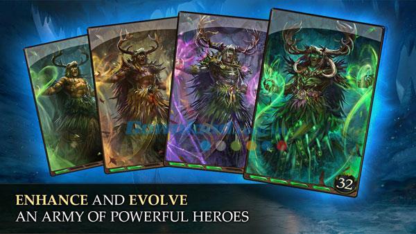 Heroes of Camelot für Android - Taktisches Kartenspiel für Android
