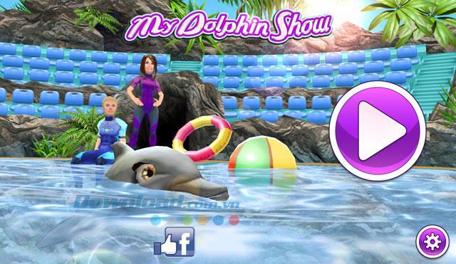 My Dolphin Show für Android 2.1.17 - Das Zirkus-Delfin-Spiel für Android