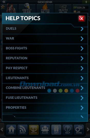Underworld Empire für Android 2.6.5 - Spiel Underground Empire für Android