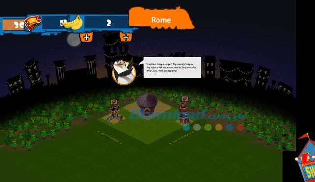 Madagaskar - Tritt dem Zirkus für Android 2.0.1 bei - Ein lustiges Zirkusspiel für Android