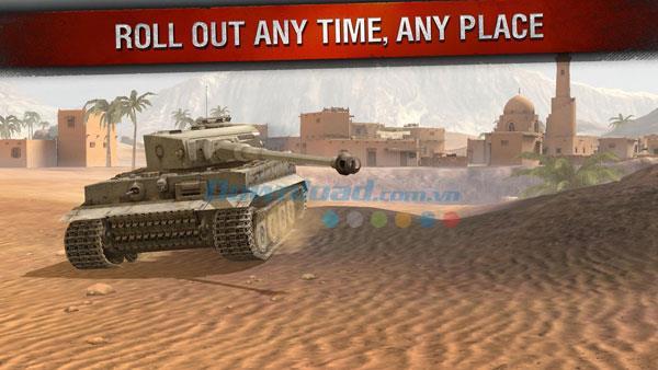 World of Tanks Blitz für Android 1.8.0.289 - Online-Multiplayer-Panzerschießspiel für Android