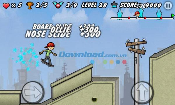 Skater Boy for Android1.6-Androidでのゲームサーフィン