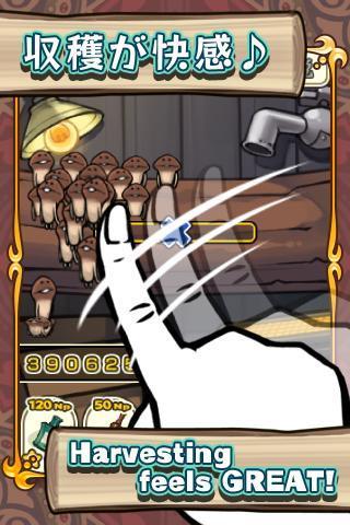 Mushroom Garden für Android - Pilzzucht-Simulationsspiel