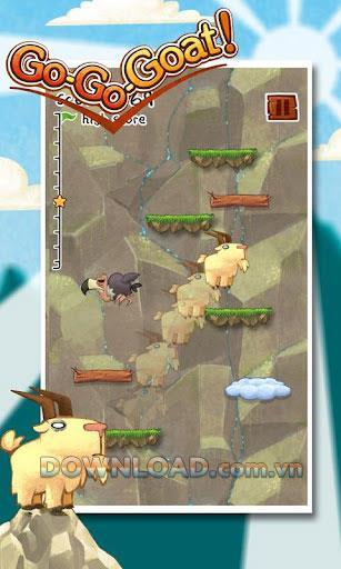 Go-Go-Goat!  für Android - Spiel die Hochsprungziegen