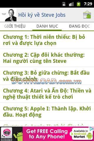 Steve Jobs Vietnamesisch - Android - Lesen Sie Steve Jobs Erinnerungen