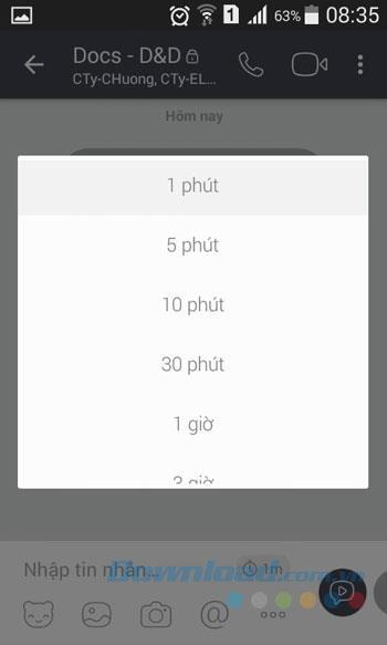 Android用Viberメッセンジャー-チャット、Viberでグループビデオを呼び出す