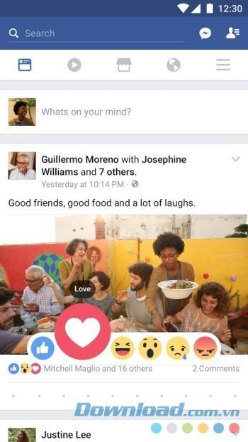 Facebook forAndroid-AndroidからFacebookにアクセス