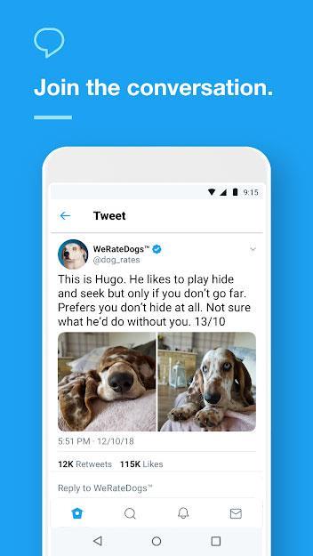 Twitter forAndroid-AndroidからTwitterにアクセス