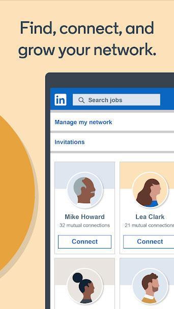 LinkedIn for Android4.1.483-評判が良く信頼できる仕事のソーシャルネットワーク