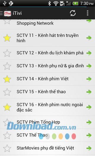 Android9.9用ベトナムTVHD-Android携帯でTVをオンラインで視聴