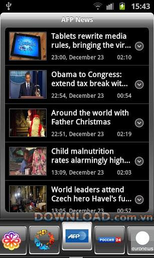 3GTV BY for Android2.2.1-Androidでテレビを見る