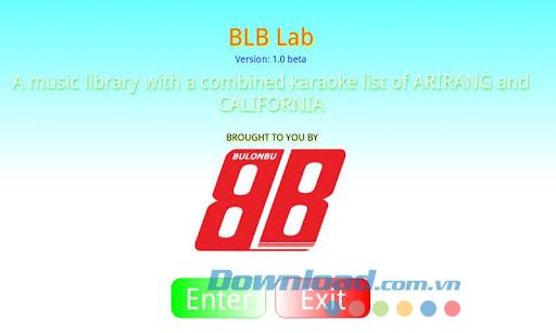 BLBLab für Android 1.05 - Song Library