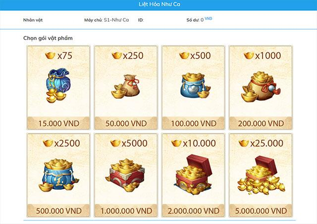 Liet Hoa VNG für Android 1.4.3 - Ultimatives Grafik-Schwert-Rollenspiel