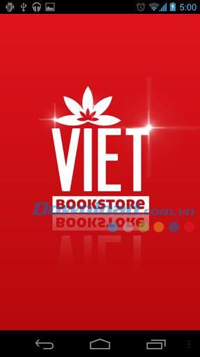 Viet Bookstore für Android - Anwendung zum Lesen von Büchern und Zeitungen