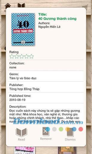 Lac Viet Reader für Android 1.0.7 - Elektronische Leseanwendung
