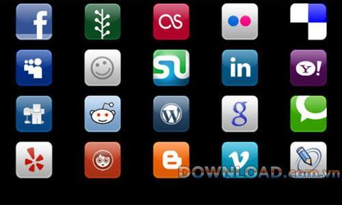My Social Media forAndroid-多くのソーシャルネットワークにアクセスするためのアプリケーション