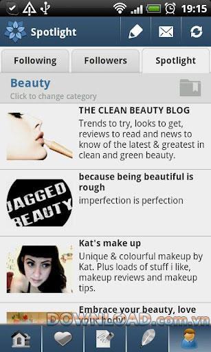 ShortBlogger für Tumblr (Android) - Teile Inhalte auf Tumblr für Android