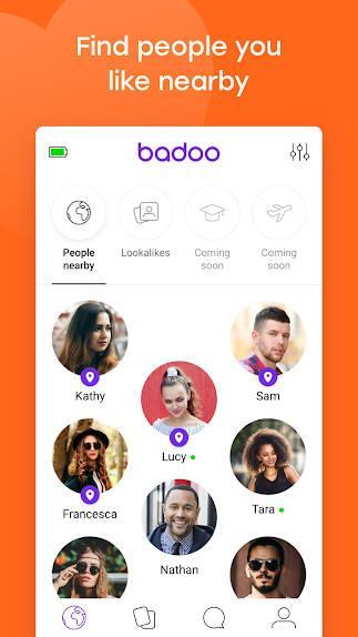 Android用Badoo-Android用ソーシャルネットワーク