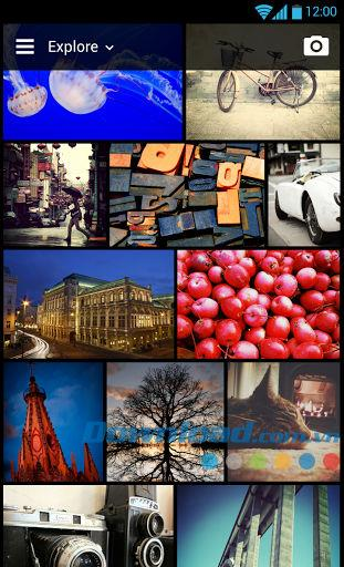 Flickr for Android4.8.2-Android用の多機能写真共有ネットワーク