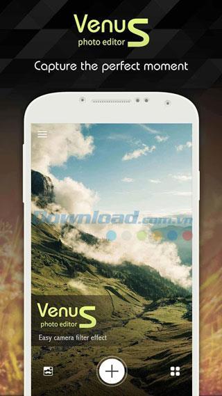 Android1.2.0用のテキスト付きVenusフォトエディタ-Androidのプロフェッショナルな写真編集ツール