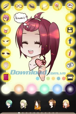 Chibi Me for Android7-Android用のアバターを簡単に作成