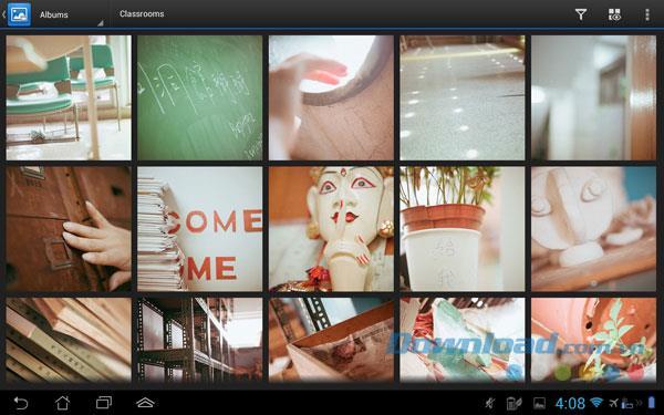 DS photo + für Android 3.2 - Durchsuchen Sie Fotos und Videos auf Synology DiskStation