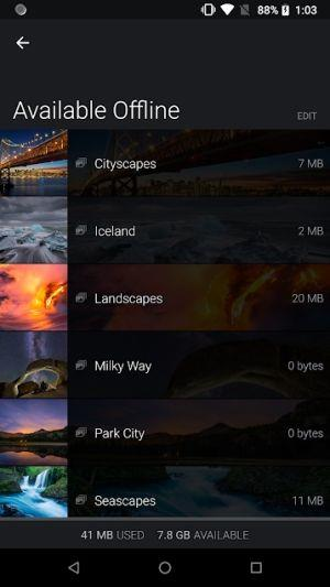 SmugMug for Android3.6.1.20180508-Androidのオンライン写真ストレージ